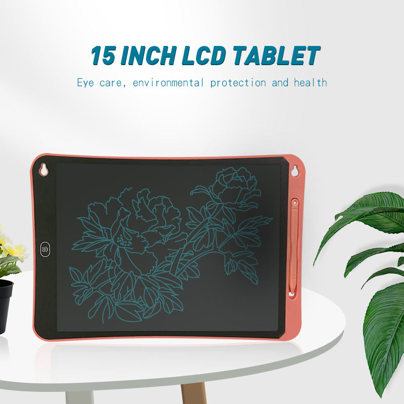 15 inch Upgraded graffiti painting luminous kids drawing board manufacture wholesale kids lcd writing tablet