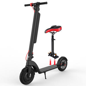 HX X8 powerful 450w long range scuter electric scooter with seats for adults