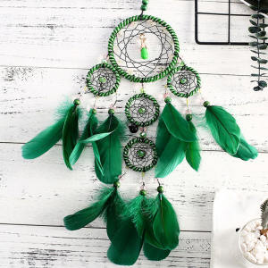 Green Home Decoratieve Dream Catcher Groter