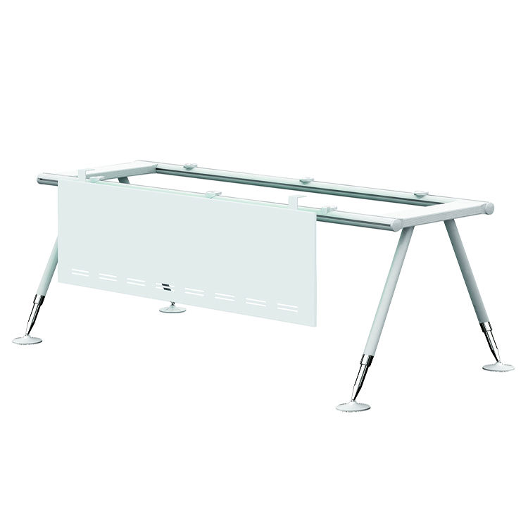 New Design Height Quality Unique Office Table Used Aluminium Materials Office Desk Leg for Office Furniture