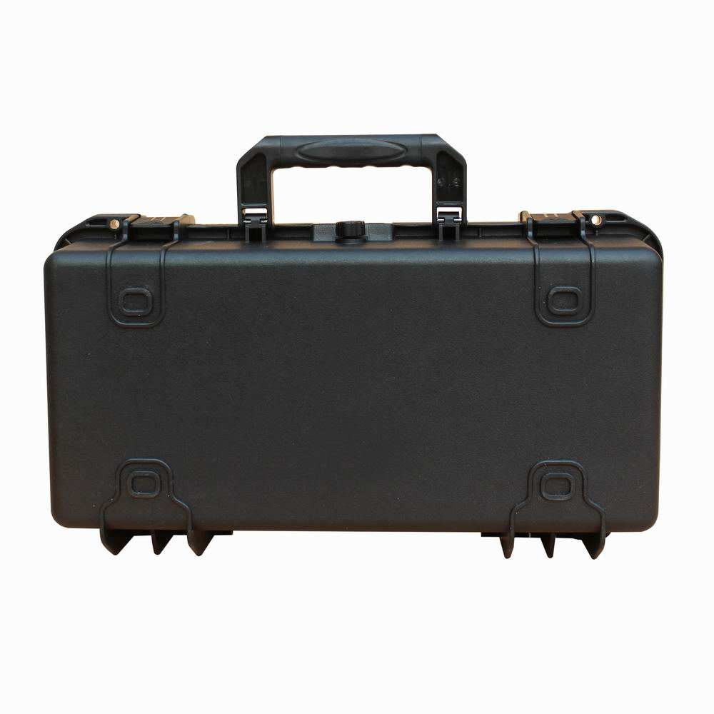 PP/PVC Plastic Hard waterproof gun equipment protective tool case