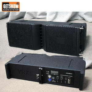 Double 8 inch Powered Line Array Speaker Active professional loudspeaker system Mini Line Array Speaker