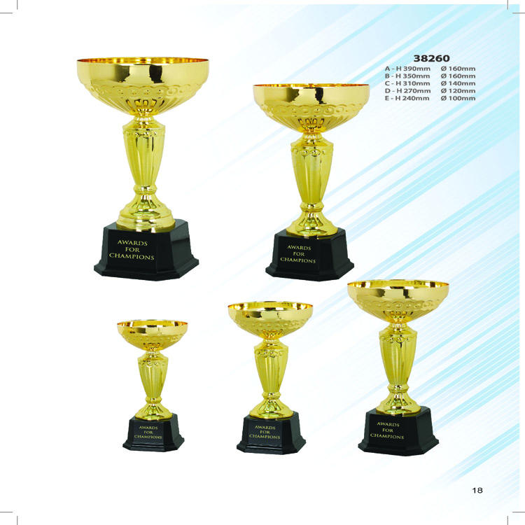 Cheap metal Trophy Cups