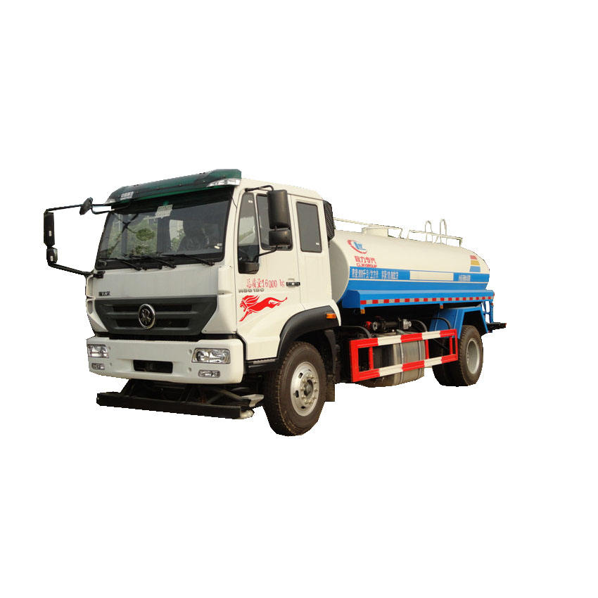 New design 15 ton water bowser sino truck