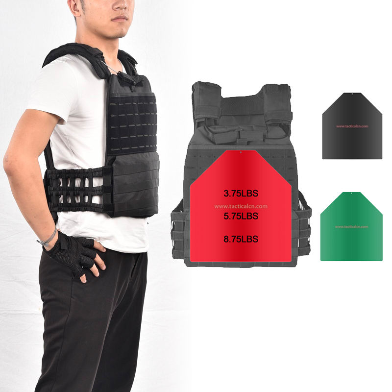 Tactical Weight Vest Plates Metal Body Building Weight Steel Plate For Vest