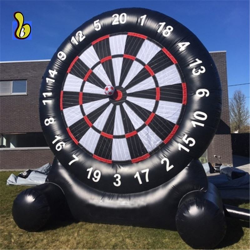 Outdoor Inflatable Soccer Dart Board Inflatable Football Darts Game