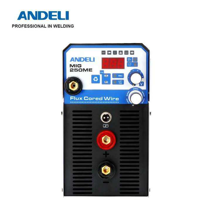 ANDELI MIG-250ME Household 220V Multifunctional MIG Welding Machine Lift TIG MMA MIG 3 in 1 Welding without Gas Flux Core Wire