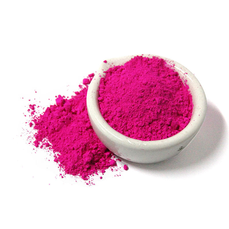 Red violet fine powder neon Fluorescent pigment for coatings