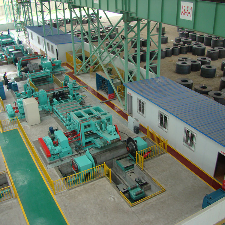 hot rolled coil and cold rolled coil steel strip slitting machine Steel coil slitting and cut to length machine line