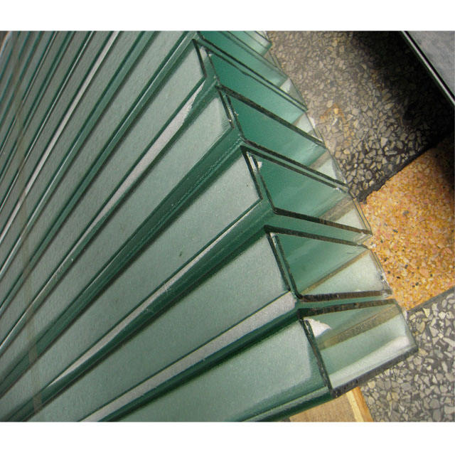 Customized design High quality u channel glass project tempered u glass for exterior wall