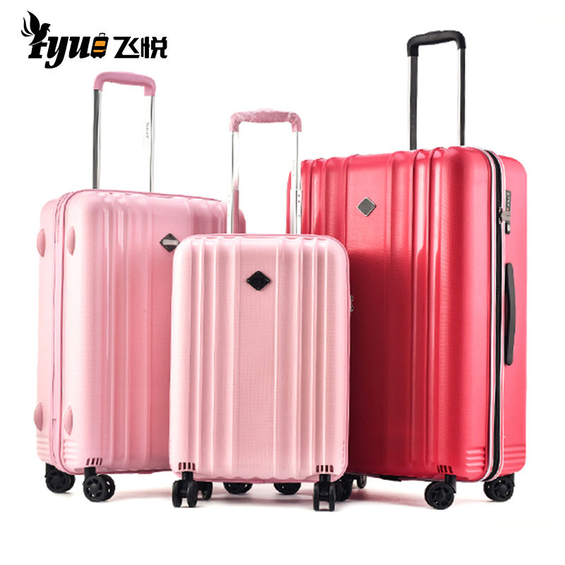 Unbreakable Strong 100% PP Trolley Case Lady Girls Valise 20 24 28 inch Luggage Travel Suitcase Luggage Bag Set