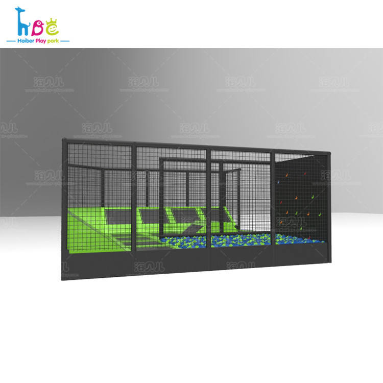 Sale Malaysia Cool Play House Indoor Park Import Wall Trampoline With Safety Net