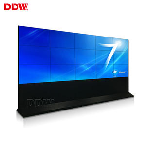 Factory Outlet Layar Bezel 55 Inci 3X3 1080P 0.88Mm Monitor Dinding Video Lcd Led Tv Iklan Obral