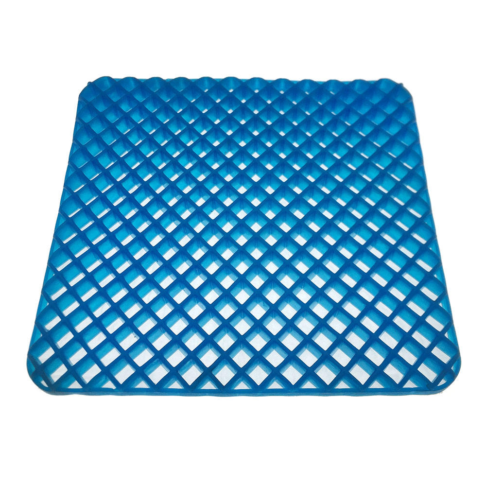 Hot sale protect coccyx relieve pain soft TPE cool gel silicone seat cushion material mat pad