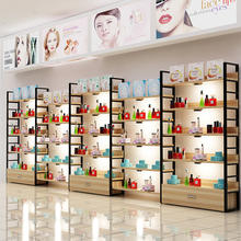 Footwear Shop Bag Display Racks Cosmetic Store Fixtures Combination Shelving Stacking Racks Shelves Full Assemble Multi-Function