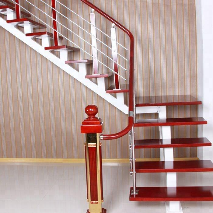 modern plastic PVC handrail for stairs with cheap prices