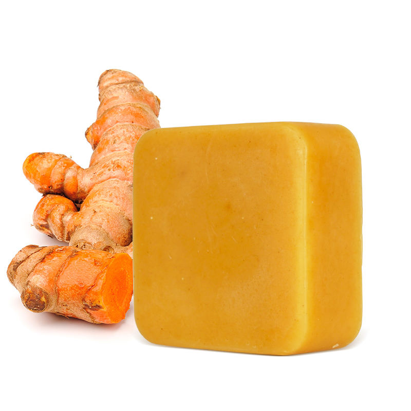 Wholesale Hand Made Anti Acne Remove Pimples Dark Spots Natural Organic Herbal Turmeric Soap