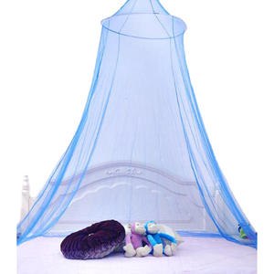 B1701 2020 Hot Sale Gauze Mosquito Curtain Home Bedroom Decoration Round Lace Bed Canopy Netting Curtain Dome Mosquito Net