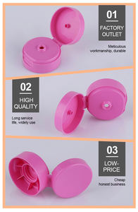 Manufacturer flip top cap 20/410 for cosmetic packaging bottle