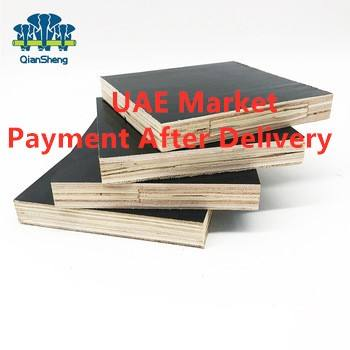 18mm phenolic marine plex Black laminate Brown Film Faced shuttering Hardwood Plywood for Construction in UAE