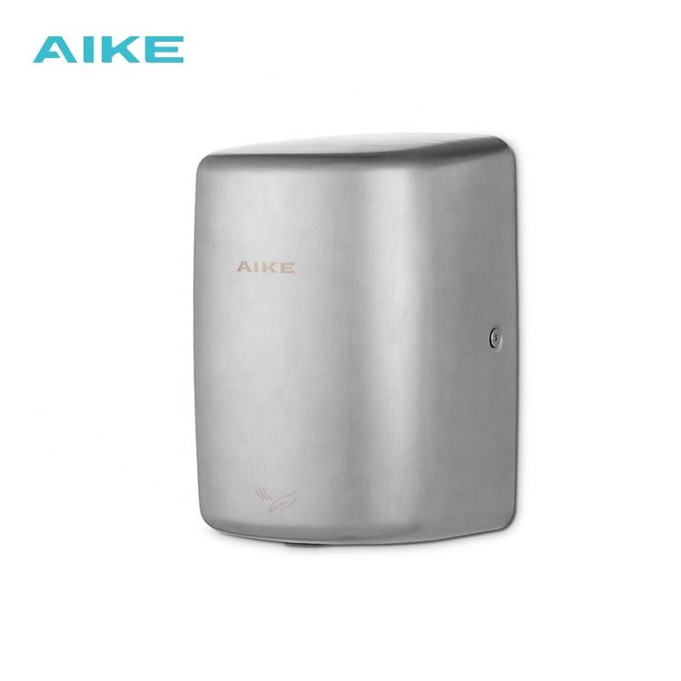 AIKE Factory AK2803E 1150W Round Outlet Concentrated Airflow Industrial Airblade Hand Dryer Automatic