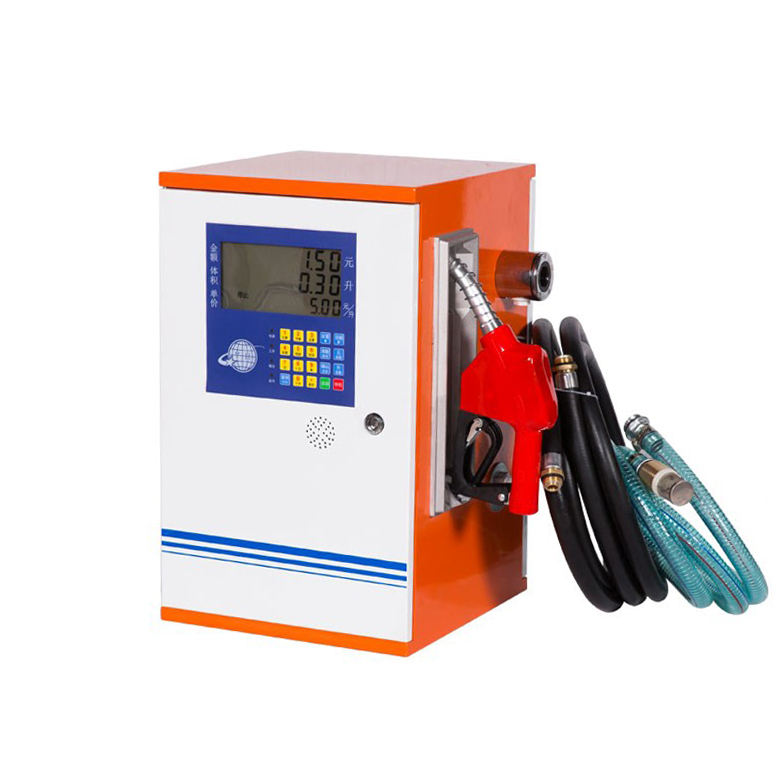 Ecotec Mobile LCD Display Single Nozzle Fuel Dispenser for sale