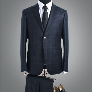 stylish classic design handsome check fabric formal men's pant coat suit