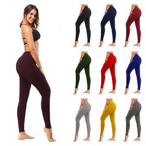 Factory wholesale fitness yoga leggings for women sexy gym sports workout legging