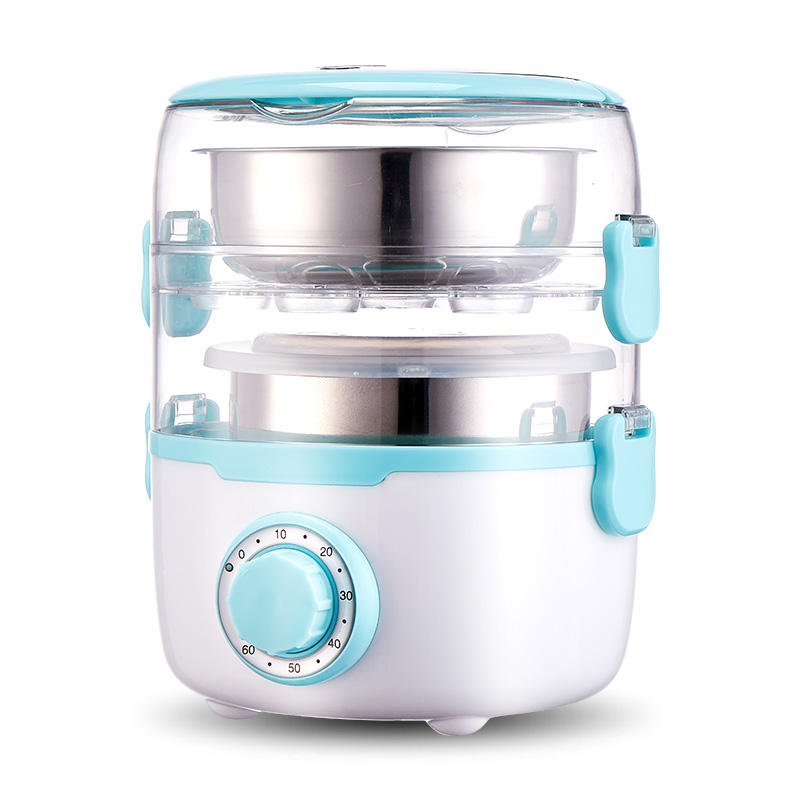Portable Electric cooking lunch box With Stainless Steel Removable Pot