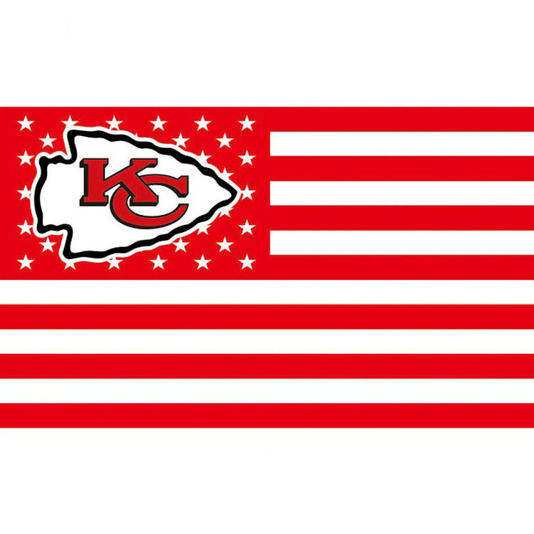 3x5ft NFL <span class=keywords><strong>Kansas</strong></span> <span class=keywords><strong>City</strong></span> <span class=keywords><strong>Chiefs</strong></span> sport Fahnen 90x150cm <span class=keywords><strong>Kansas</strong></span> <span class=keywords><strong>City</strong></span> <span class=keywords><strong>Chiefs</strong></span> flagge