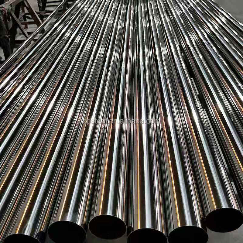 ASTM A554 AISI 304 201 430 316 Stainless Steel Welded Round Pipe Tube