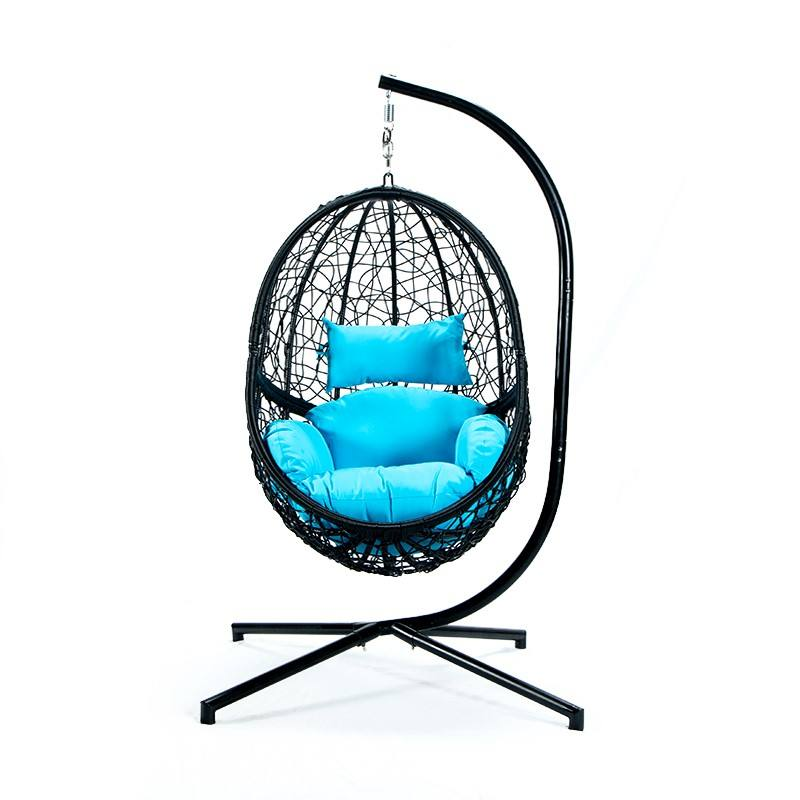 Garden Swing Hanging Chair Swing Chair Free Standing Rattan Swing Chairs