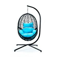 Iron Steel Frame Powder Coated Swing Chair Hanging Chair with Stand