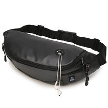 PU leather Fashion running waist bag Casual Travel Hip Purse Sports custom fanny pack bumbag