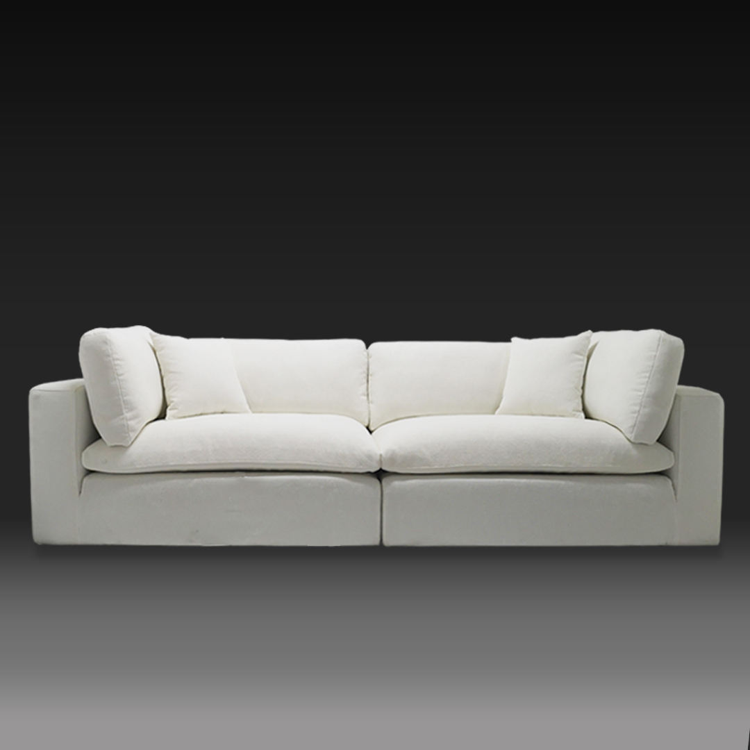 American Style [ Sofa Big ] White Sofas Best Selling Cheap Price Lazy Boy Sofa White Fabric Sofa Custom Big Couches