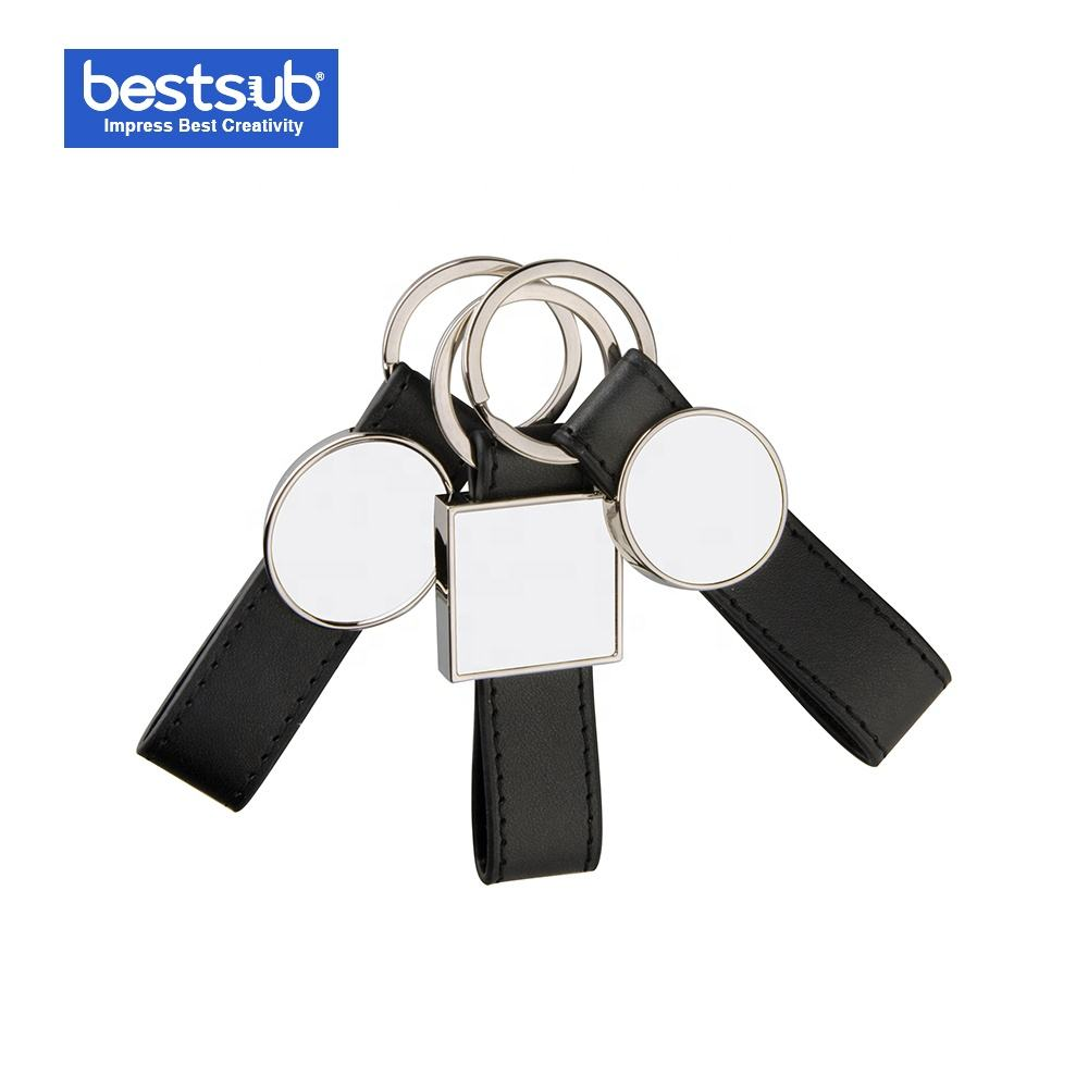 Sublimation Metal Key Ring (Flag Shape) (YA11)