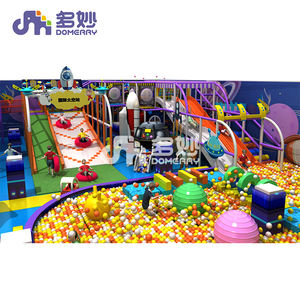 kids space theme soft play swing commercial rope course park set modern indoor play equipment