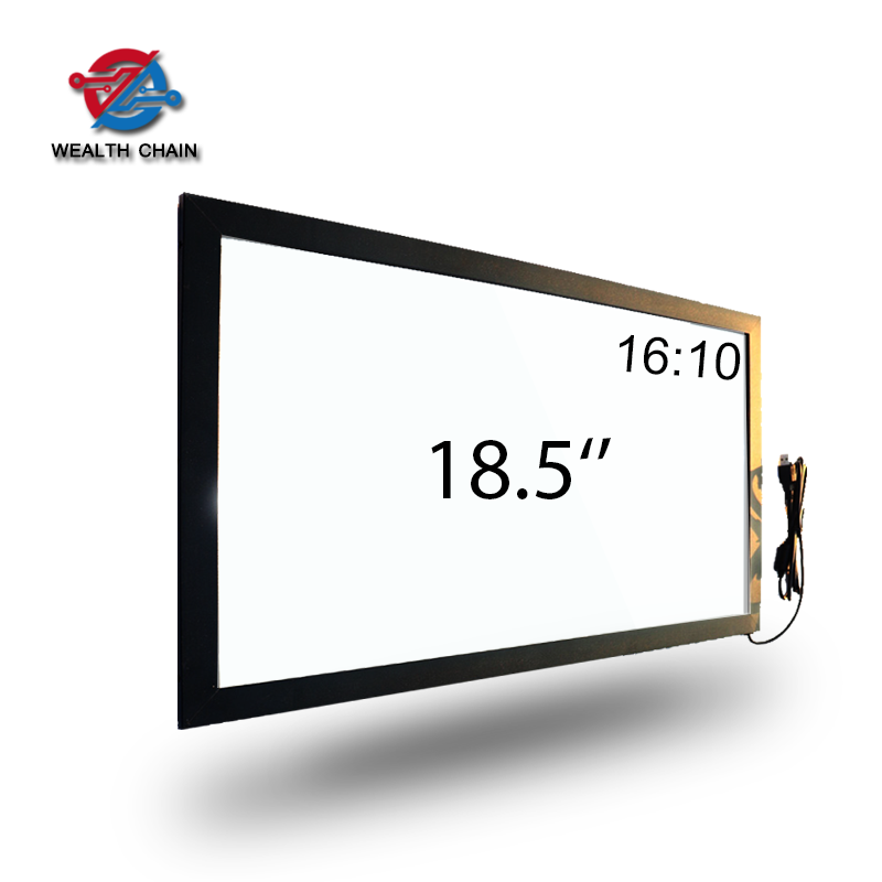 18.5 inch infrared touch screen with glass 10 multi ir point touch frame