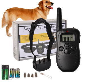Electric Shock Anjing Kerah PET888 Adjustable Anti Kulit Kerah dengan Suara dan Shock