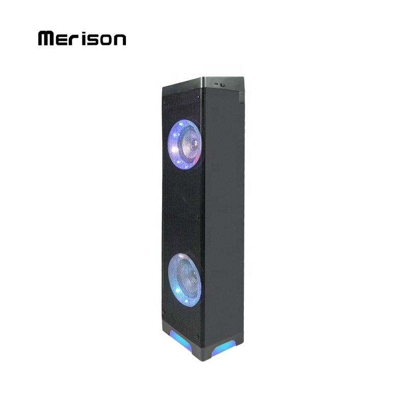 Tower Speaker with USB/TF/FM/Remote High Quality Multimedia Wireless Stereo Speaker Indoor Home Theatre System