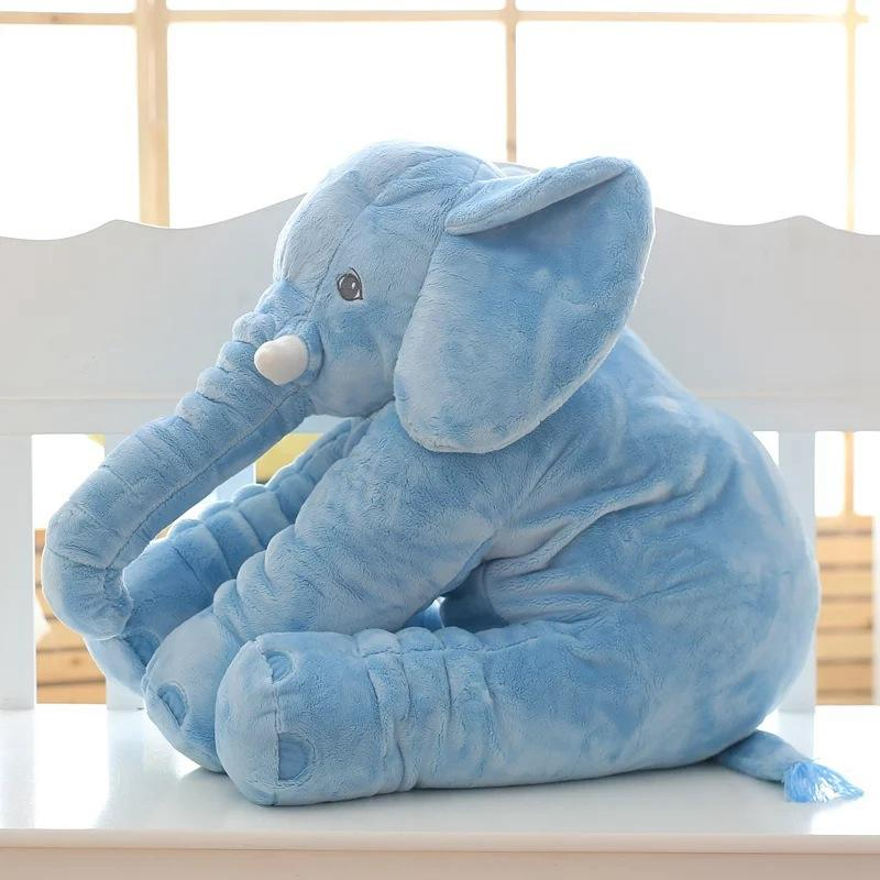 Wholesale giant plush and stuffed elephant toys with big ears for baby sale