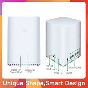 Buena cubierta 4G LTE WiFi Router 300Mbps inalámbrico Broadand 4G 3G Wi-Fi móvil puntos CPE para venta