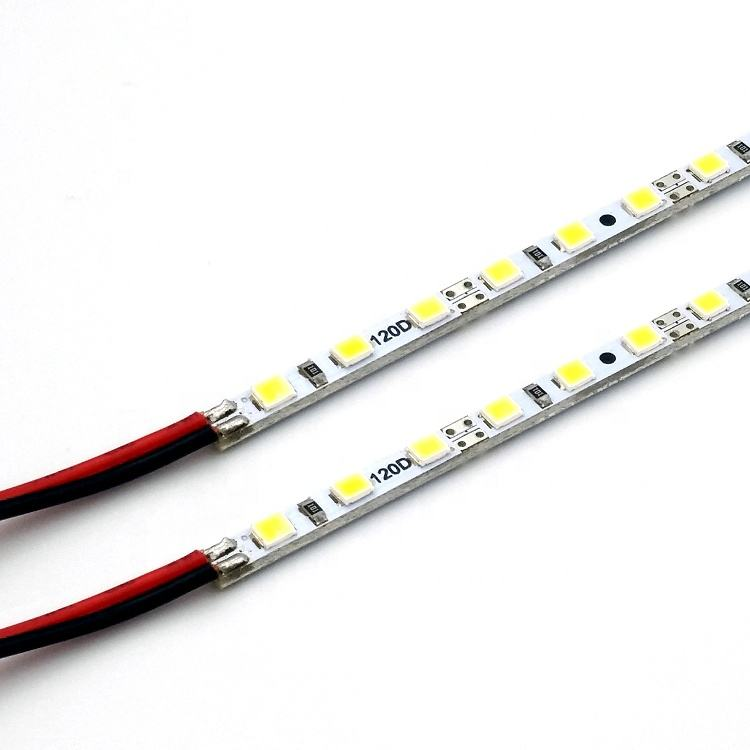 Ultra thin 1.6mm RGB led hard strip for landscape decoration