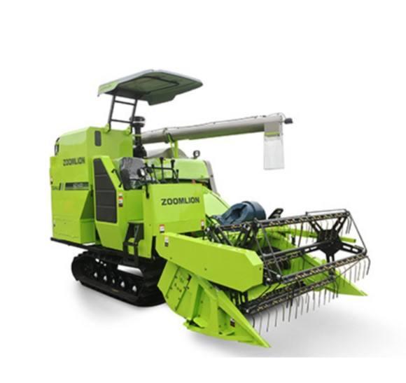 عالية الجودة شعار العملاء 4lzt-4.0zd Zoomlion آلات زراعية ماكينة حصد صغيرة حصادة
