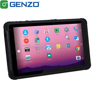 GENZO 8 Inch 700 Nits Cheapest Android 9.0 industrial tablet rugged Android tablet pc MT806