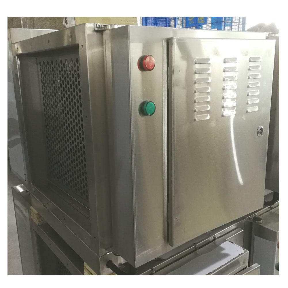 Stainless Steel Free-Kombinasi 95% Memurnikan Tingkat Industri ESP Air Purifier Kitchen Exhaust Elektrostatik Precipitator