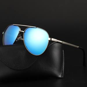 Renekton New Polarized Sunglasses Men Metal Outdoor Day and Night Sun Glasses UV400