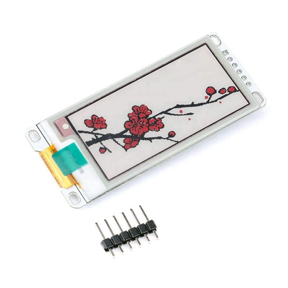 Taidacent 2.13 Elink Rood Zwart En Wit Elektronische E Ink Display Monitor Spi-interface IL0373F E-Papier Elektronisch Papier E Ink