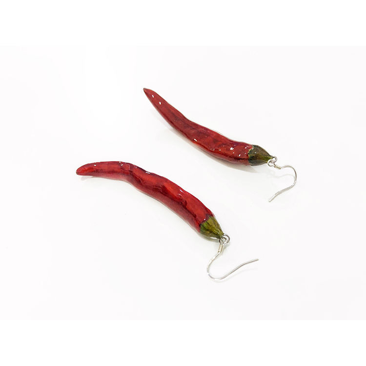New style hot selling chilli drop earring s925silver womans earrings