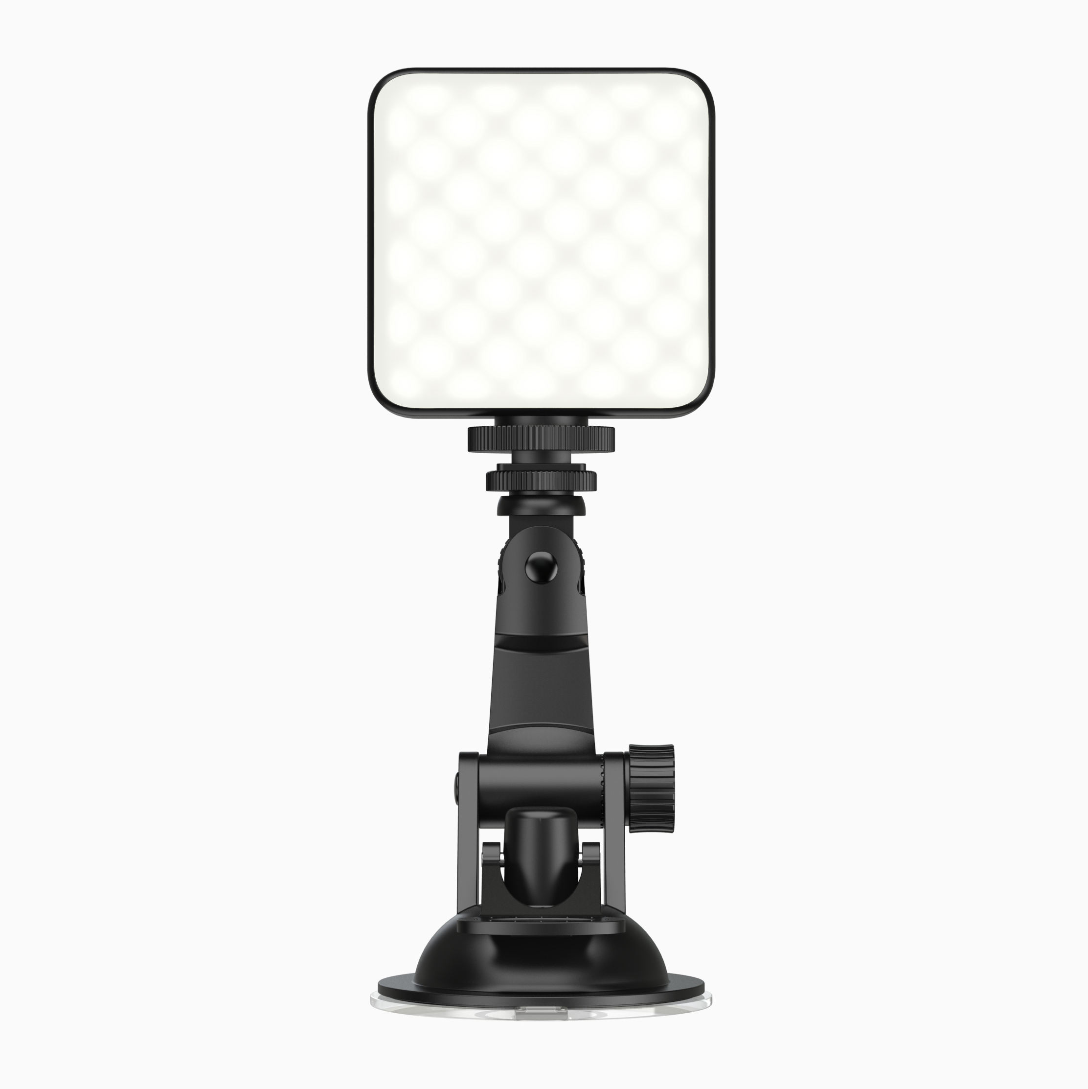 Video Conference Lighting Kit for Remote Working Computer LED Video Light with Suction Cup for Broadcast Live Streaming